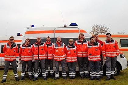 Die eingesetzten Helferinnen und Helfer des DRKs aus dem Kreisverband Altenkirchen. Foto: DRK Kreisverband