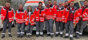 wir machen Dienst beim Rosenmontagsumzug in Horhausen